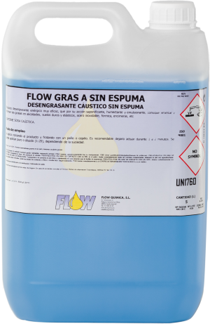 FLOW GRAS A SIN ESPUMA