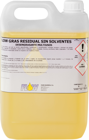 NON SOLVENT FLOW GRAS RESIDUAL