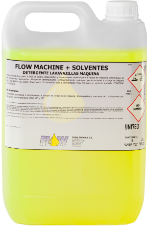 FLOW MACHINE + SOLVENTESI