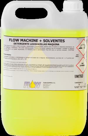 FLOW MACHINE + SOLVENTS