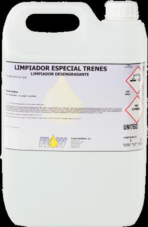 LIMPIADOR ESPECIAL TRENES